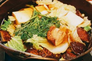 Kamonabe Hotpot for two